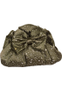 PacificPlex Clutch bags -  Satin Rhinestone Clutch Bag Evening Purse With Bow Olive