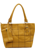 Scarleton Hand bag -  Scarleton Large Tote H1044 Yellow