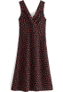 FECLOTHING Dresses -  Sleeveless rose print dress