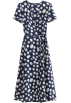 FECLOTHING Dresses -  Small Daisy Floral Print Dress