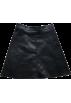 FECLOTHING Krila -  Solid color leather skirt A short skirt