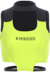 FECLOTHING Shirts -  Stitched fluorescent green halter vest