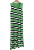 FECLOTHING Dresses -  Striped knit vest maxi skirt
