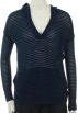 Tommy Hilfiger Long sleeves shirts -  Tommy Hilfiger Hoodie, Long Sleeve Open Stitched Top Navy