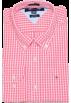 Tommy Hilfiger Long sleeves shirts -  Tommy Hilfiger Men Custom Fit Plaid Long Sleeve Shirt Brink pink/white