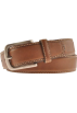 Tommy Hilfiger Belt -  Tommy Hilfiger Men's 08-4695 Creased Stitched Belts Brown