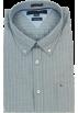 Tommy Hilfiger Camisas manga larga -  Tommy Hilfiger Mens Long Sleeve Custom Fit Button Front Shirt Blue-Gray