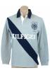 Tommy Hilfiger Camisas manga larga -  Tommy Hilfiger Mens Regular Fit Long Sleve Sash Rugby Shirt Grey