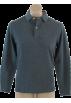 Tommy Hilfiger Camisas manga larga -  Tommy Hilfiger Mens Regular Fit Long Sleve Solid Color Polo Shirt Grey
