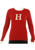 Tommy Hilfiger Hemden - lang -  Tommy Hilfiger Round Neck Signature Shirt Red
