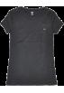 Tommy Hilfiger T-shirts -  Tommy Hilfiger Slim Fit V-neck Women Logo T-shirt Black