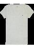 Tommy Hilfiger T-shirts -  Tommy Hilfiger Slim Fit V-neck Women Logo T-shirt Gray