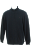 Tommy Hilfiger Pullovers -  Tommy Hilfiger Solid Quarter Zip Sweater Navy