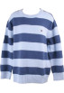 Tommy Hilfiger Pullovers -  Tommy Hilfiger Toddler Boys/Boys Blue Striped Crewneck Sweater