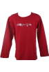 Tommy Hilfiger Camisa - longa -  Tommy Hilfiger Toddler Girls/Girls Sparkle Knit Red Shirt