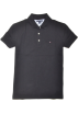 Tommy Hilfiger T-shirts -  Tommy Hilfiger Women Classic Fit Logo Polo T-Shirt Black