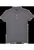 Tommy Hilfiger T-shirts -  Tommy Hilfiger Women Classic Fit Logo Polo T-Shirt Dark Gray