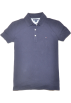 Tommy Hilfiger T-shirts -  Tommy Hilfiger Women Classic Fit Logo Polo T-Shirt Navy