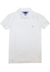 Tommy Hilfiger T-shirts -  Tommy Hilfiger Women Classic Fit Logo Polo T-Shirt White