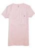 Tommy Hilfiger T-shirts -  Tommy Hilfiger Women Slim Fit Crewneck Logo T-Shirt Light Pink