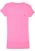 Tommy Hilfiger T-shirts -  Tommy Hilfiger Women Slim Fit Crewneck Logo T-Shirt Pink