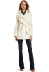 Tommy Hilfiger Jacket - coats -  Tommy Hilfiger Women's Beanie Classic Spring Trench Ivory