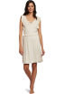 Tommy Hilfiger Dresses -  Tommy Hilfiger Women's Flutter Sleep Dress Warm Oatmeal