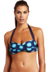 Tommy Hilfiger Swimsuit -  Tommy Hilfiger Women's Molded Soft Cup Halter Bandeau Navy