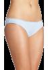 Tommy Hilfiger Underwear -  Tommy Hilfiger Women's Ruched Bikini Light Blue Pindot