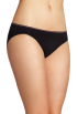 Tommy Hilfiger Underwear -  Tommy Hilfiger Women's Seamless Bikini Black
