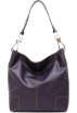 Tosca Blu Hand bag -  Tosca Classic Shoulder Handbag Purple