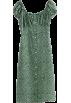 FECLOTHING Dresses -  Vintage Idyllic Floral Front Long Button