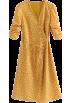 FECLOTHING Dresses -  Vintage garden small floral print V-neck