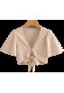 FECLOTHING Shirts -  Wild Short Sleeve V-Neck Top