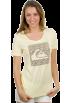 Quiksilver T-shirts -  Womens Quiksilver Women's Sun Dotty Crew Tee Lemonade