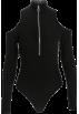 FECLOTHING Overall -  Zipper high collar bodysuit