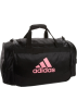 adidas Bag -  adidas Defender Medium Duffel Black/Petal Pink