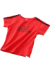 FECLOTHING T-shirts -  exposed umbilical short T-shirt