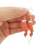 FECLOTHING Brincos -  fish earrings