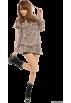 FREE'S MART(フリーズマート) 长袖衫/女式衬衫 -  FREE'S MART(フリーズマート)フラワーシフォンブラウス