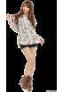 titty&Co.(ティティー&コー) 长袖衫/女式衬衫 -  titty&Co.(ティティー&コー)フラワーコットンブラウス
