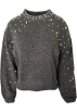 FECLOTHING Pullovers -  pearl decorative sweater