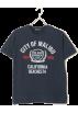 BEAMS(ビームス) T恤 -  BEAMS MALIBU リブ Tシャツ