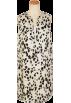 TOMORROWLAND (トゥモローランド) ワンピース・ドレス -  TOMORROWLAND (women's) ダルメシアンプリント タックワンピース