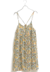 coen(コーエン) 连衣裙 -  coen プリントキャミワンピース