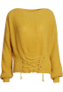 FECLOTHING Bolero -  sexy off-the-shoulder sweater