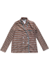 FECLOTHING Jacket - coats -  small suit retro wave point casual suit