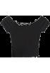 FECLOTHING Shirts -  wood ear short-sleeved t-shirt